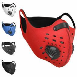 Sport Mask Cycling Face Mask Neoprene Breathable valves + St