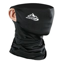 cycling half face mask motorcycle neck warmer