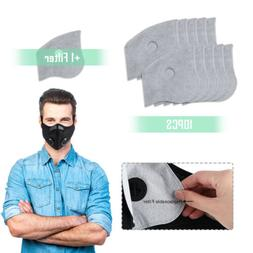 cycling sports face cover activated carbon filter