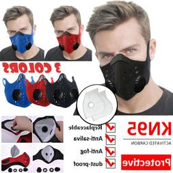 Cycling Sports Mouth muffle Face Shield Reusable Carbon Flit