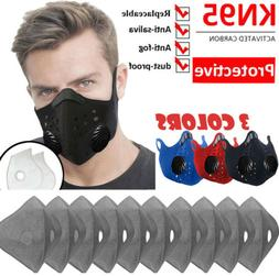 Cycling Sports Mouth muffle Face Shield Reusable & Carbon Fl