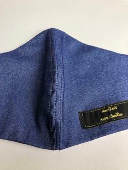 Denim Arial style Face Mask Breathable Reusable Comfortable