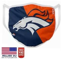 Denver Broncos Face Mask Washable with Slot NFL Soft Cotton