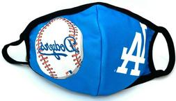 Dodgers Los Angeles Baseball Face Mask Reusable Washable Spo