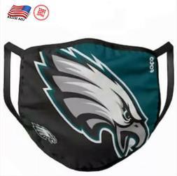 Eagles Face Mask. Washable & Cotton Filter Pocket NFL Team S