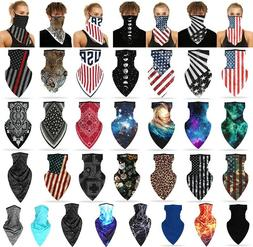 elastic face mask silky soft cover bandana