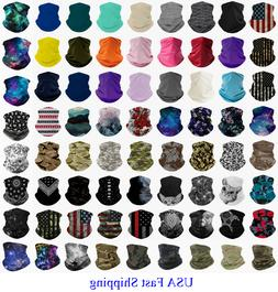 Face Mask Bandana Covering Scarf Neck Gaiter Headband Snood
