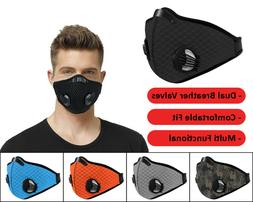 Face Cover Air Purifying Mask for Outdoor Travel Sports Cycl