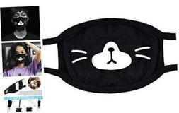 Face Cover for Sport Outdoor, Cotton Half Face Mask for Wome