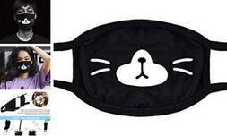 AHOMAME Face Cover for Sport Outdoor, Cotton Half Face Mask