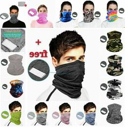 Face Mask Bandana Cover Reusable Washable Scarf Neck Gaiter