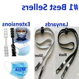 face mask ear hook strap extension adjustable