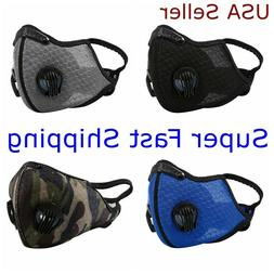 Face Mask Mesh Cover Dual Exhalation Valves Covering Reusabl