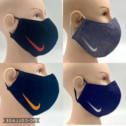 Face Mask Sports Nike Reusable Designer Washable Handmade Cl