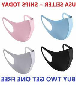 Unisex Face Mask Reusable Washable Cover Masks Fashion Cloth