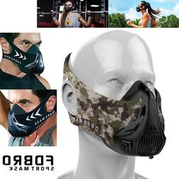 FDBRO High Altitude Workout Facial Mask Running Gym Fitness