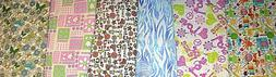 FLANNEL 100% Cotton PRINTS 1/2 YARD 18 X 42 CHOICE Buy More