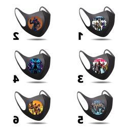 Fortnite Face Mask Reusable Washable Masks Fashion Unisex Ad