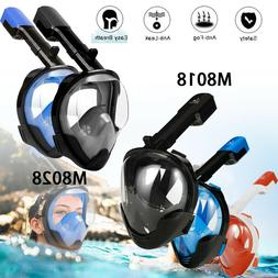 Full Face Mask Swimming Underwater Diving Snorkel Scuba For