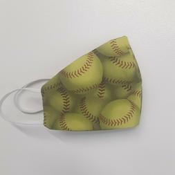 Green Tennis Ball Sneeze Guard