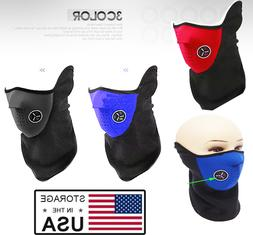 Half Face Mask Windproof Motorcycling Winter Outdoor Sports