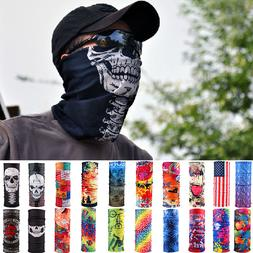 Head Face Mask Bandanas Neck Gaiter Snood Headwear Tube Scar