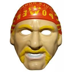 Hulk Hogan PVC Mask WWF WWE Costume Hulkamania 90s Face Band