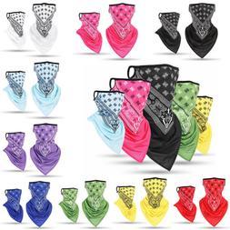 ice silk sports bandana triangle neck cover