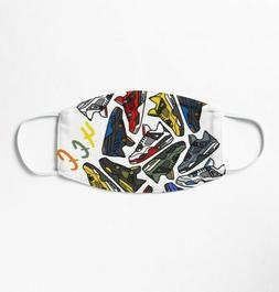 Jordan 4 Collection 4ee Mask 3D Reusable Unisex Face mask