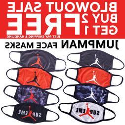 Jumpman Michael Air Jordan Face Mask Washable Nike  ✅ BUY