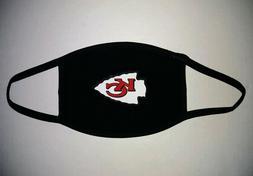KC Chiefs Face Mask & Mask Pouch Set Kansas City Chiefs NFL