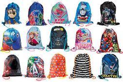 Kids Character Swimming Bag Gym Bag Pump Bag Sports School D