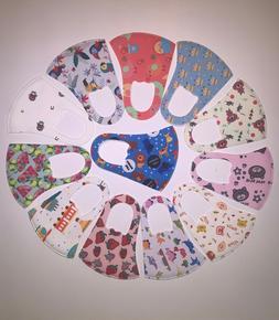 Kids Face Mask Washable, Colorful, Breathable, Unisex, US se