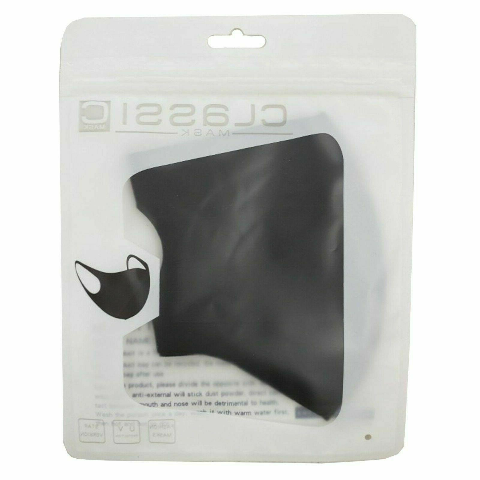 ✅ PACK BLOWOUT✅ WASHABLE REUSABLE MASK✅BLACK FACE CLOTH COVER SELLER