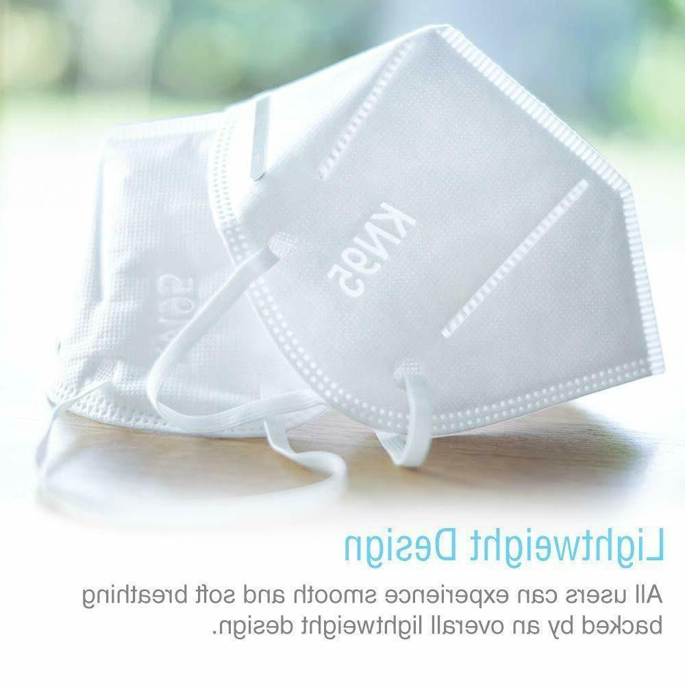 100 PCS 5 Layers Face Nose Respirator USA