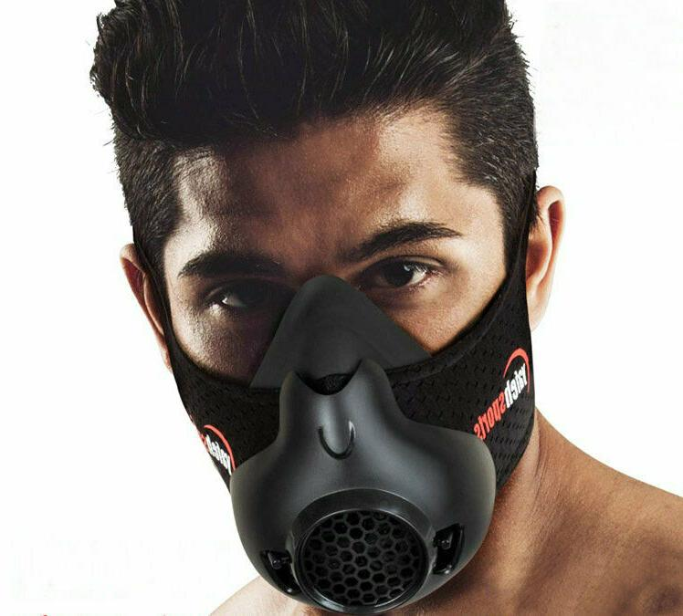 24 level running cycling sports oxygen mask