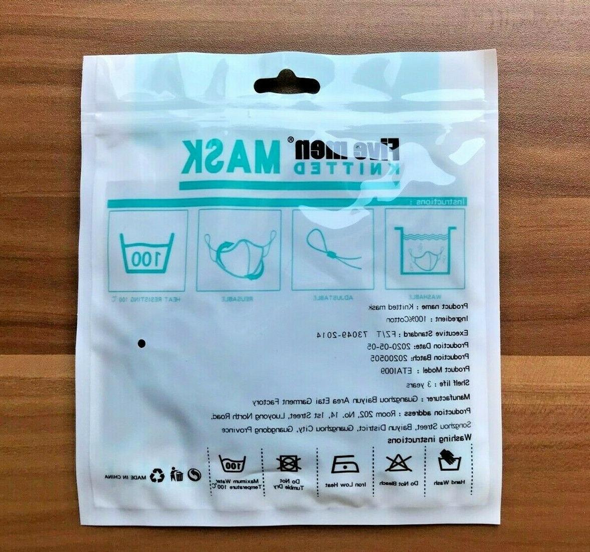 Elite iON Nano Washable Breathable Adjustable Mask