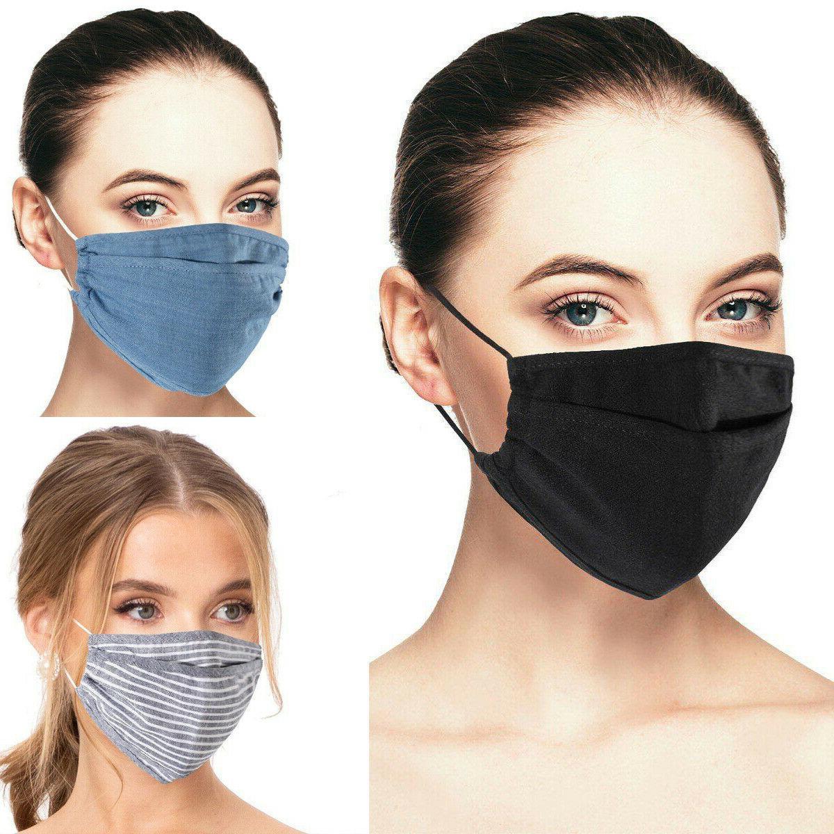 3d reusable face mask washable cover men