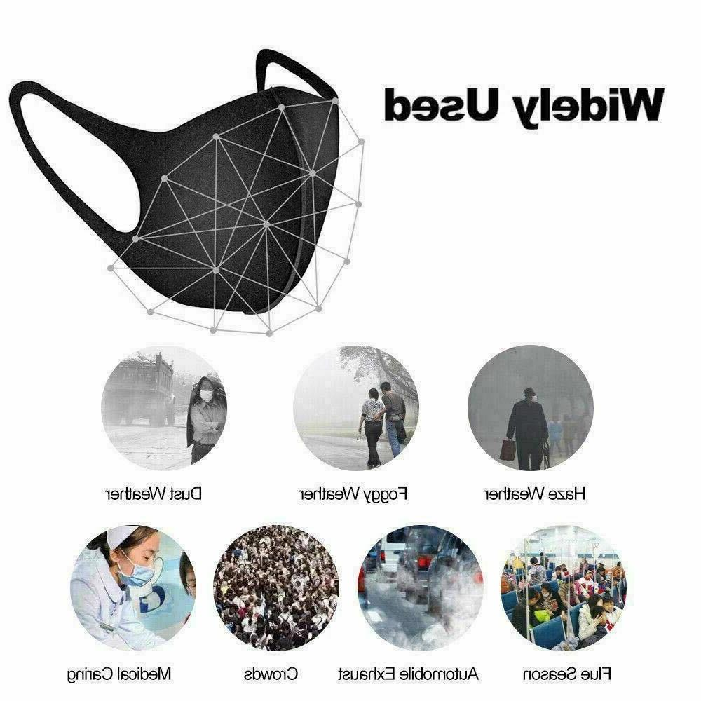 5 PCS- Cloth Breathable Face Cover