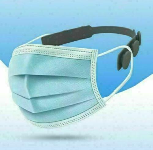 8pcs Mask Saver Extender Hook Extension Adjustable Silicone