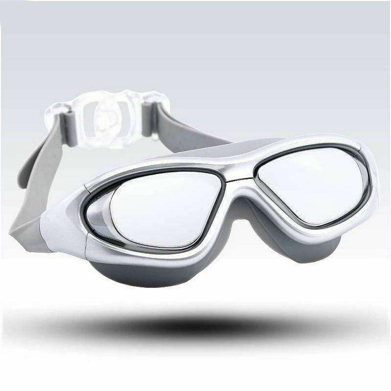 adult swimming goggles myopia diving mask anti