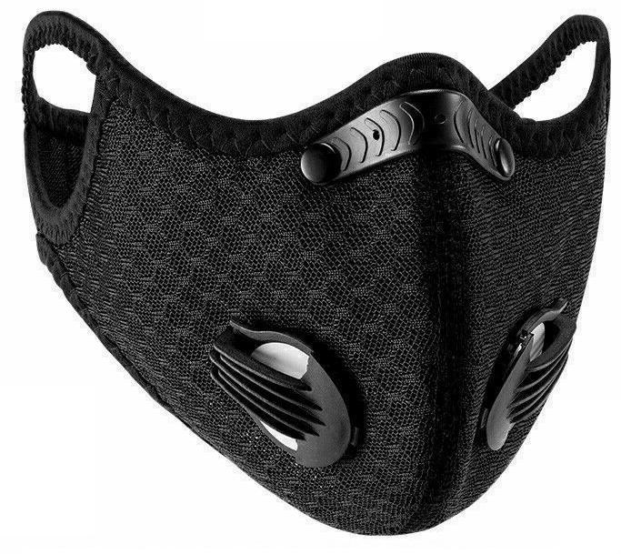 Air Reusable Mask Carbon Filter and Valves