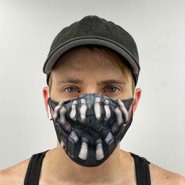 bane unisex face mask reusable washable cover