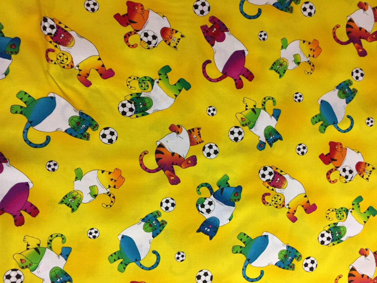 cat cats soccer sports mask ppe fabric