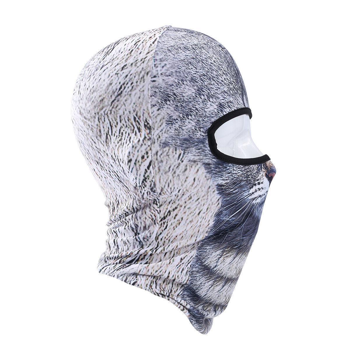Cat Mask Cute Full Mask for Hiking Sports