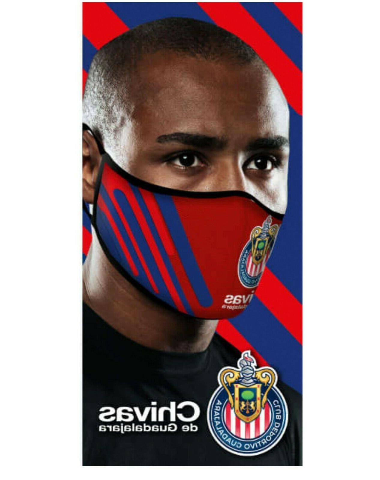 chivas face mask adjustable mascarilla de las