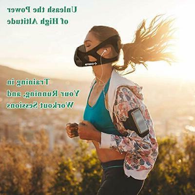 Chriffer Workout 24 Resistance Sports Mask