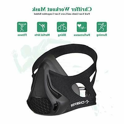 Chriffer Workout Mask 24 Breathing Levels, Sports Mask