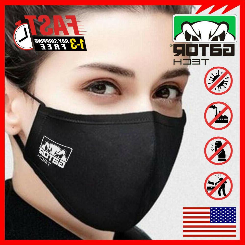 Cloth Fabric Face Reusable Washable Unisex Men Women US