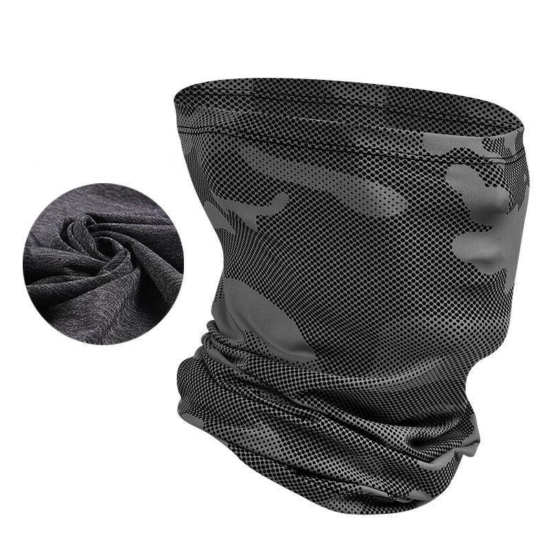 Outdoor Sports Ice Silk Antisweat Magic Scarf Neck Warmer He